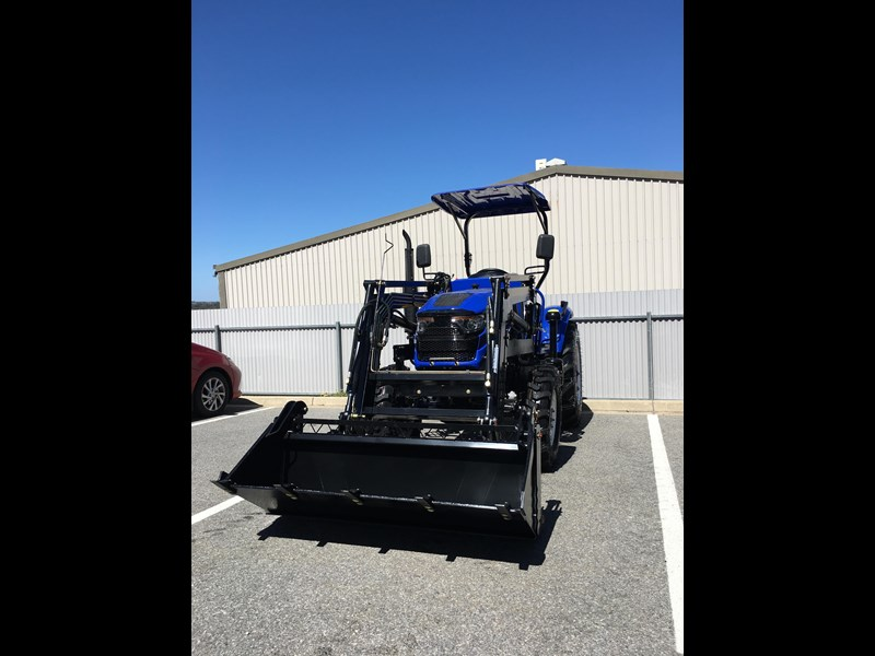 trident brand new 40hp tractor 4wd+fel+slasher shuttle shift 512366 127