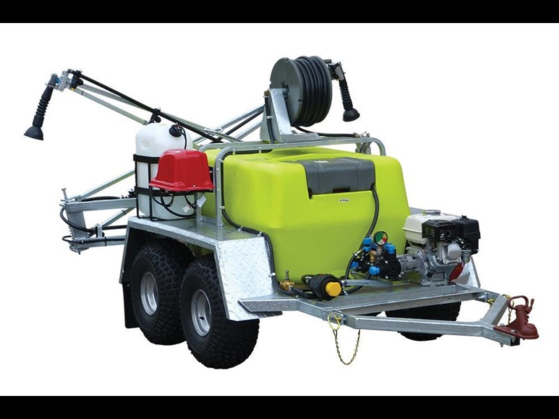 2018 TRANS TANK TRAILPRO DELUXE 400L - TRAILER SPRAYER WITH