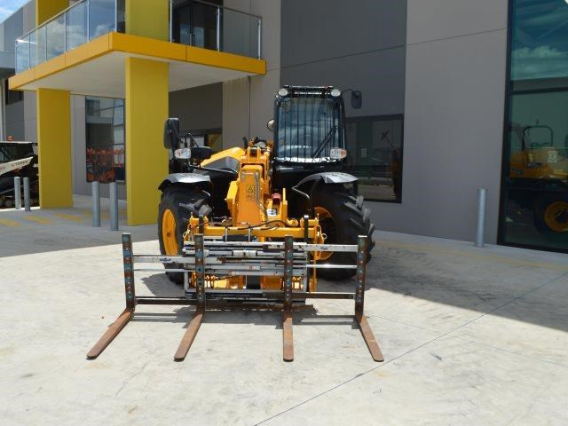 unknown cascade double pallet hydraulic forks to suit jcb telehandler 585431 013