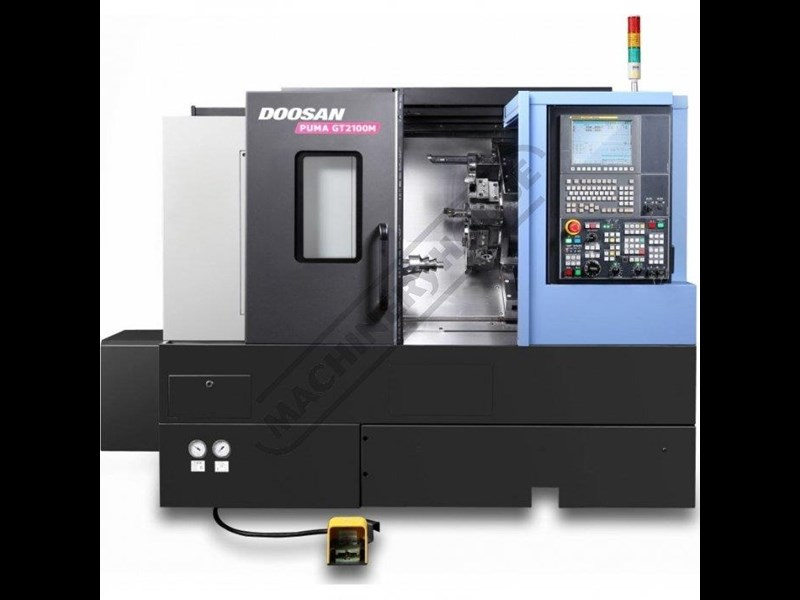 doosan machine tools puma gt2100m c axis 445739 001