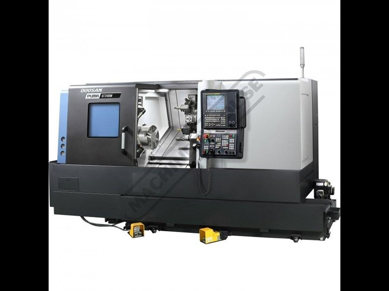 doosan machine tools puma gt2100m c axis 445739 005