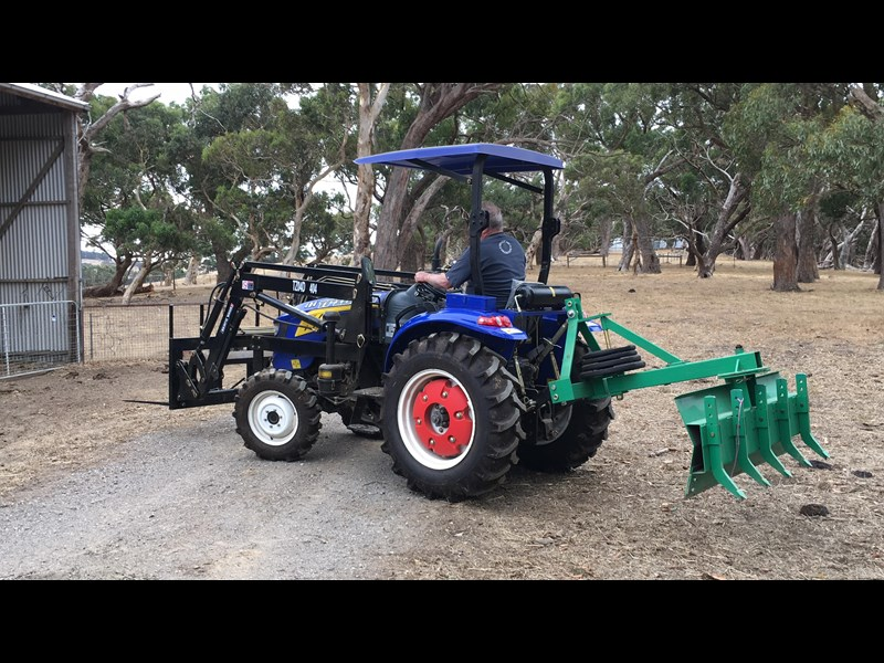 trident brand new 40hp tractor 4wd+fel+slasher shuttle shift 512366 049