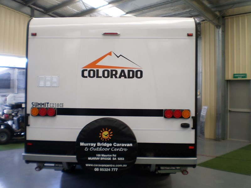 colorado caravans summit full ensuite, single beds 429575 003