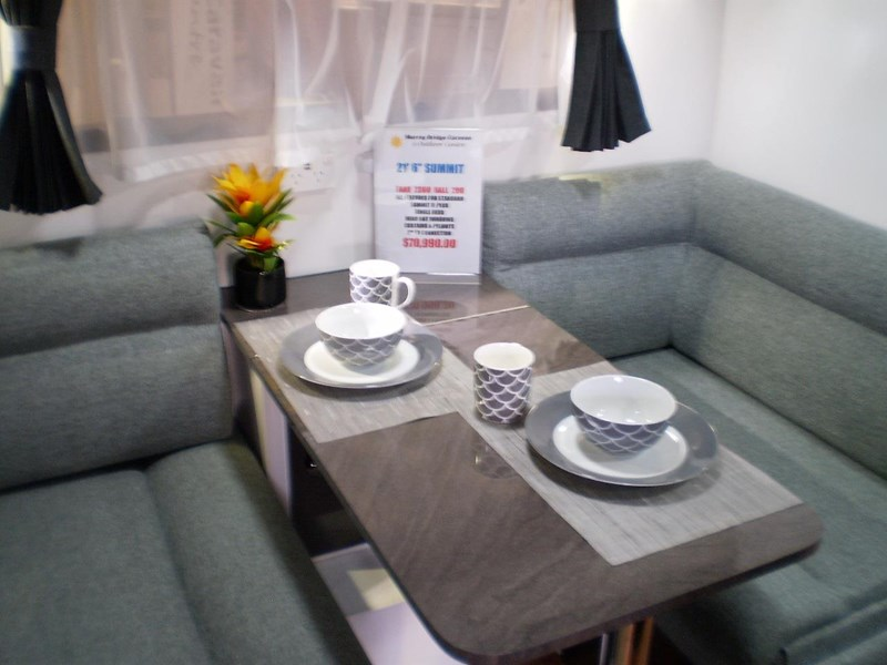 colorado caravans summit full ensuite, single beds 429575 011