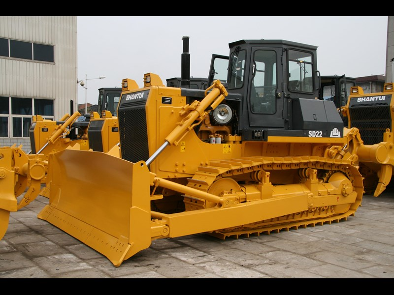 shantui sd 22 bull dozer with rippers 590579 005