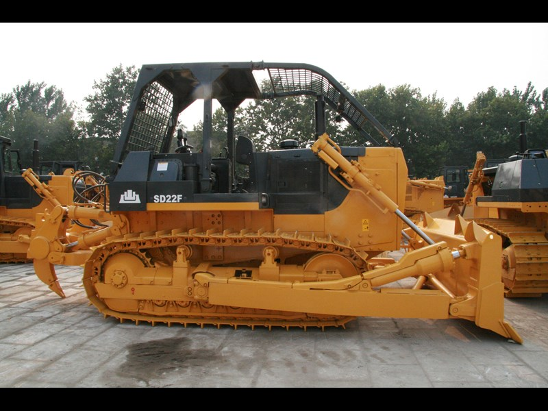 shantui sd 22 bull dozer with rippers 590579 007