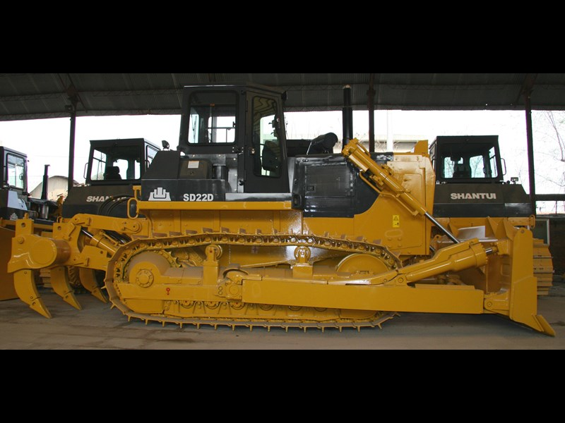 shantui sd 22 bull dozer with rippers 590579 003