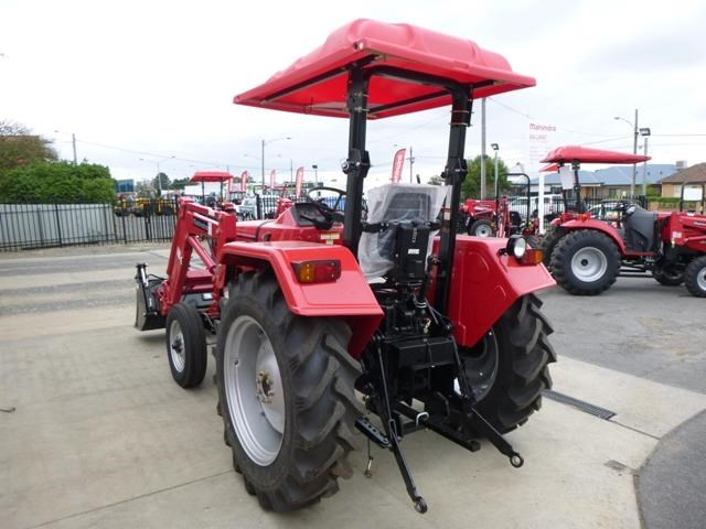 mahindra 4025 2wd + loader  & gp bucket 591974 009