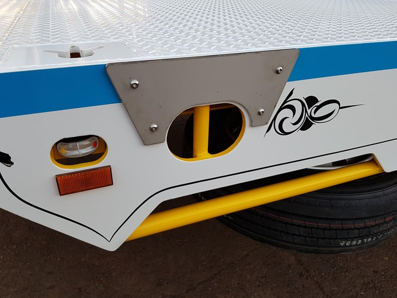 fwr elite tri axle tag trailer - ebs 594629 013