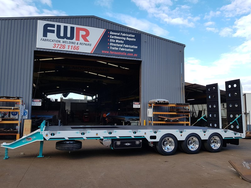 fwr elite tri axle tag trailer - ebs 594629 001