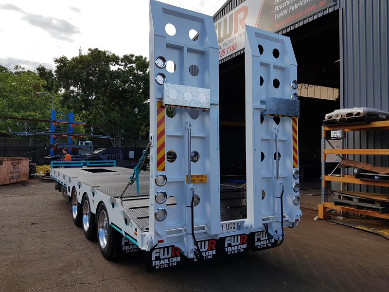 fwr elite tri axle tag trailer - ebs 594629 021
