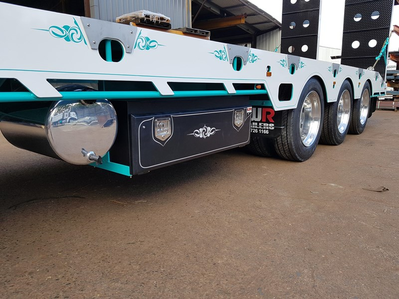 fwr elite tri axle tag trailer - ebs 594629 025