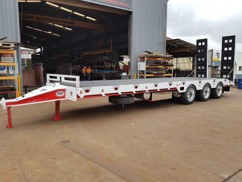 fwr elite tri axle tag trailer - ebs 594629 029