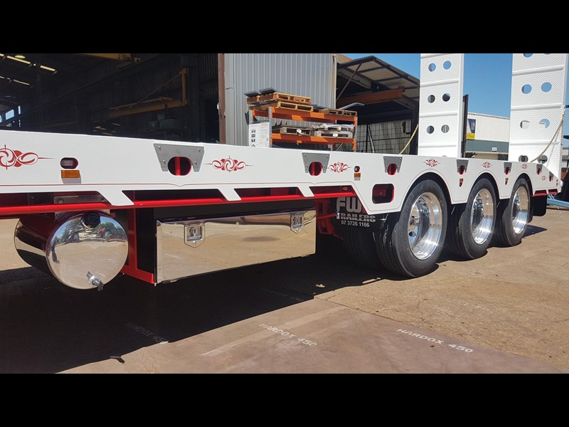 fwr elite tri axle tag trailer - ebs 594629 007