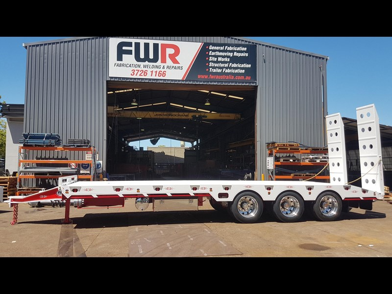 fwr elite tri axle tag trailer - ebs 594629 027
