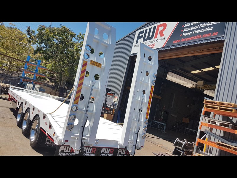 fwr elite tri axle tag trailer - ebs 594629 031