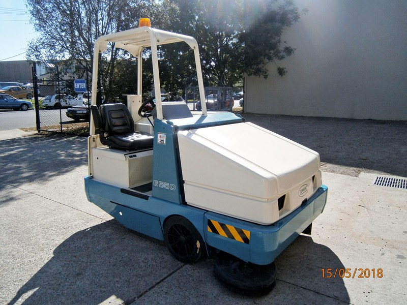 tennant electric sweeper 596462 001