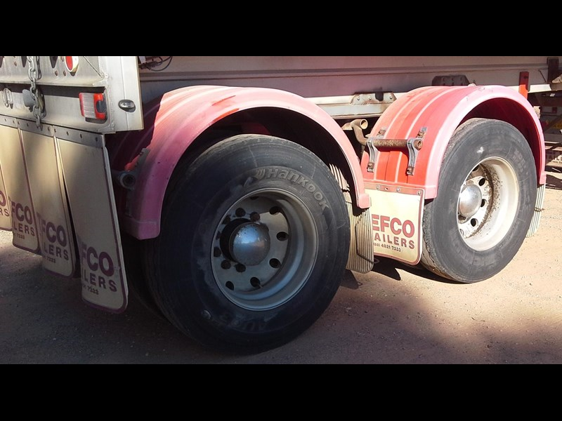 tefco 19mt b-double tippers 598204 023