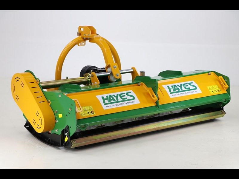 hayes flail mower premium 1800 cut with hydraulic sideshift (mulcher slasher) 545061 003