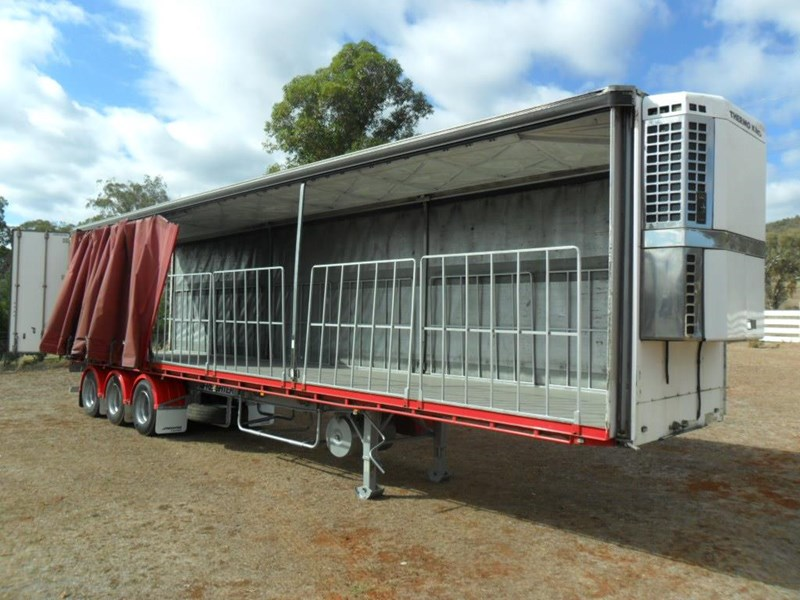 maxitrans 22 pallet refrigerated curtainsider 601019 009