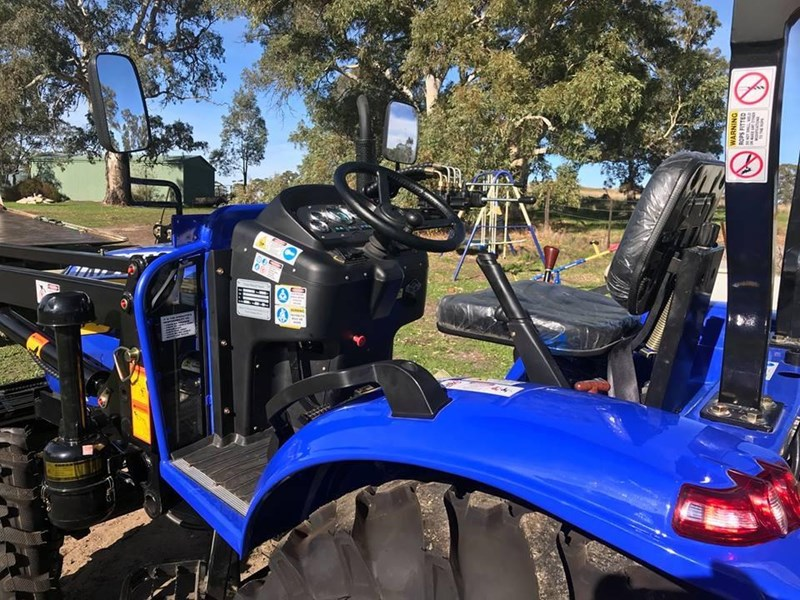 trident brand new 40hp tractor 4wd+fel+slasher shuttle shift 512366 133