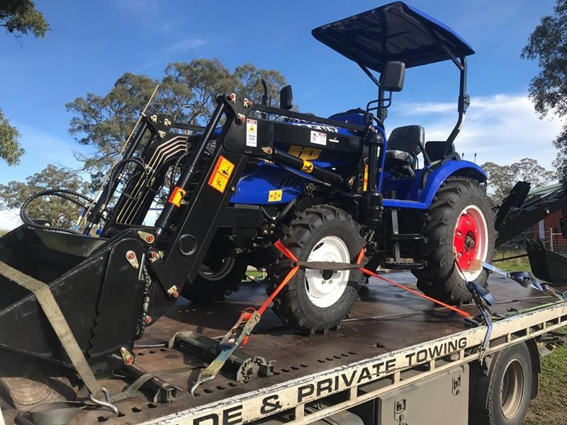 trident brand new 40hp tractor 4wd+fel+slasher shuttle shift 512366 129