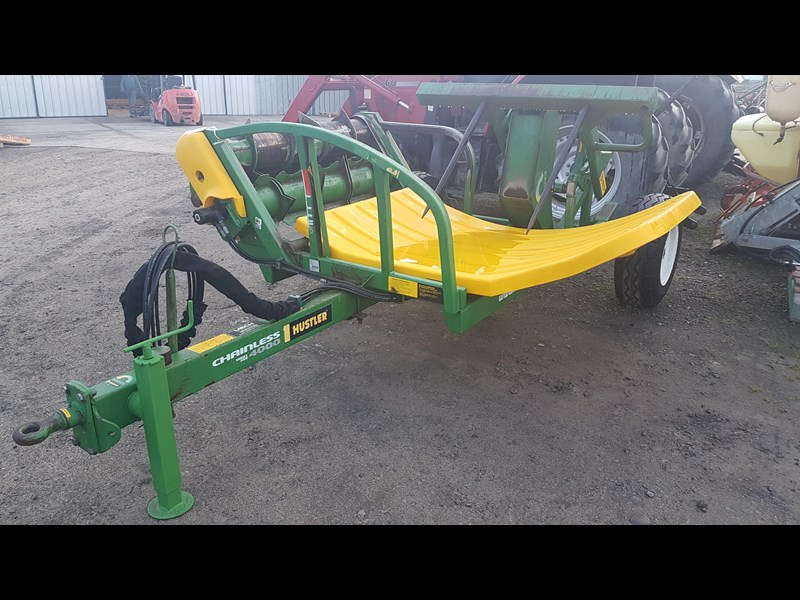 hustler chainless 4000 bale feeder 603399 005