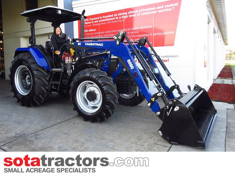 farmtrac 87hp tractor 607613 009