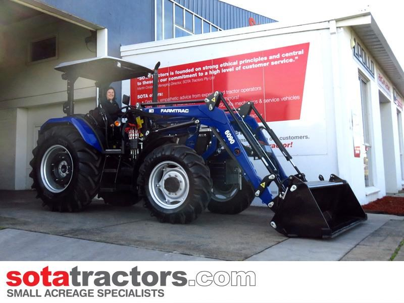 farmtrac 87hp tractor 607613 019