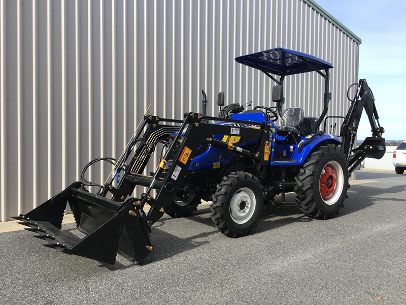 trident brand new 40hp tractor 4wd+fel+slasher shuttle shift 512366 085