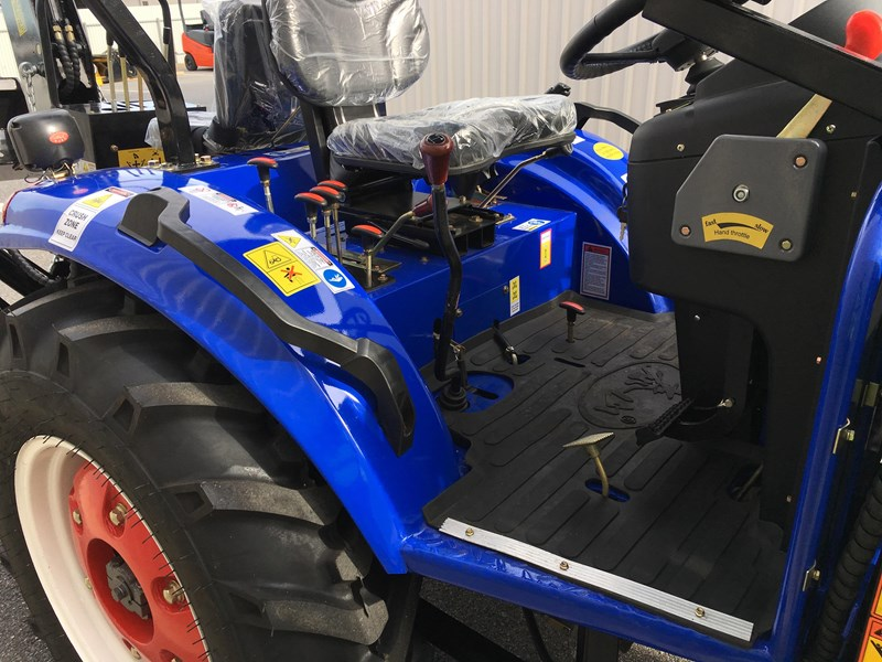 trident brand new 40hp tractor 4wd+fel+slasher shuttle shift 512366 099