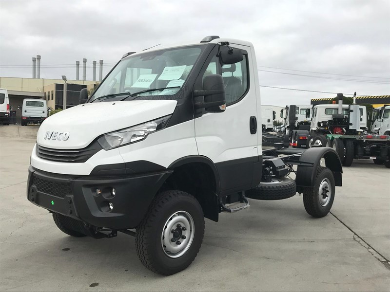 2018 iveco daily 55 s17 4x4 single cab for sale. Black Bedroom Furniture Sets. Home Design Ideas
