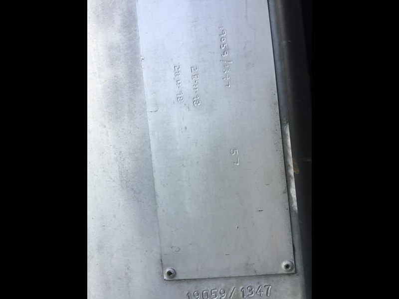 hockney 18600 litre rigid aluminium fuel tank 607793 025