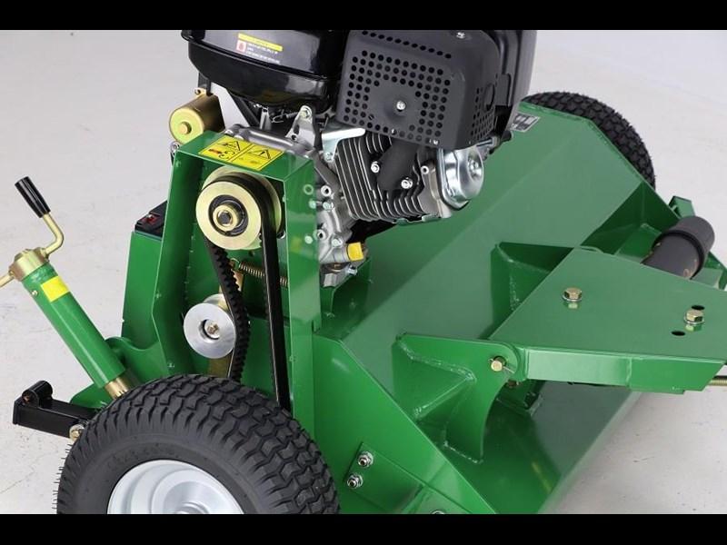Hayes Tow Behind Atv Flail Mulcher Mower 15hp Engine Quad