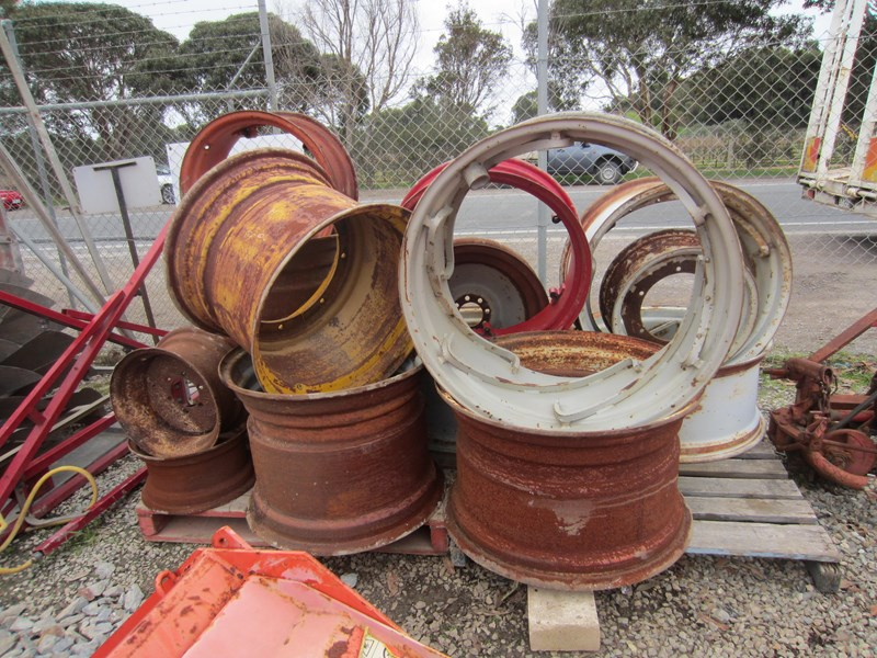 tractor rims used fire pit rims various sizes 619465 001