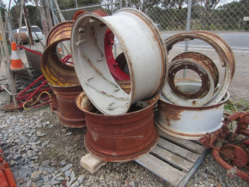 tractor rims used fire pit rims various sizes 619465 015