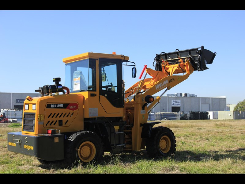 joblion equipments 2019 new joblion sm75 75hp 5.2ton free gp bucket+bucket 4 in 1+forks 546461 011