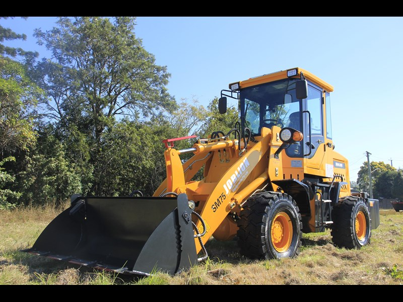 joblion equipments 2019 new joblion sm75 75hp 5.2ton free gp bucket+bucket 4 in 1+forks 546461 013
