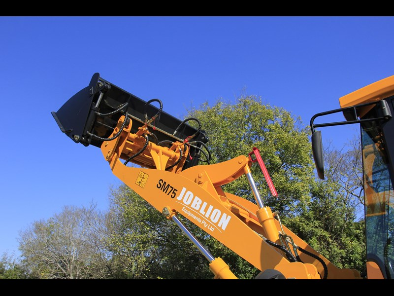 joblion equipments 2019 new joblion sm75 75hp 5.2ton free gp bucket+bucket 4 in 1+forks 546461 017