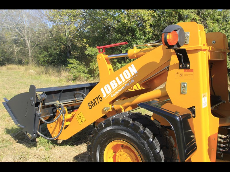 joblion equipments 2019 new joblion sm75 75hp 5.2ton free gp bucket+bucket 4 in 1+forks 546461 019
