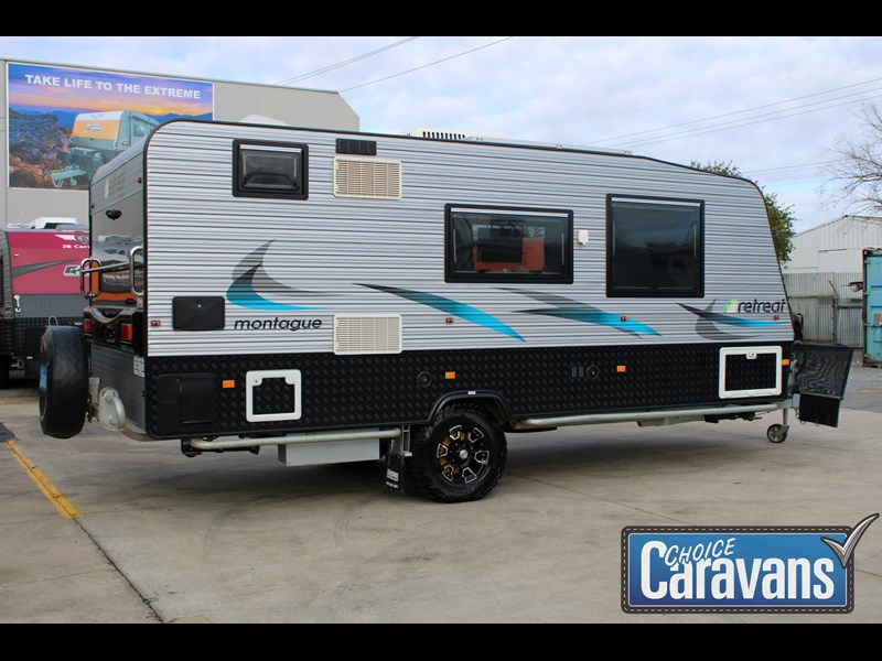 retreat caravans montague - fraser 180c 625446 011