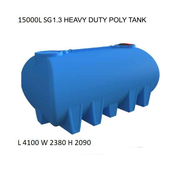 national water carts 15000l poly water cartage tank 626548 001