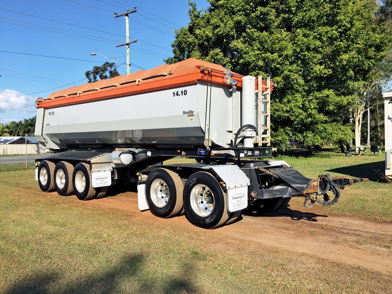road west 5 axle dog trailer 631085 001