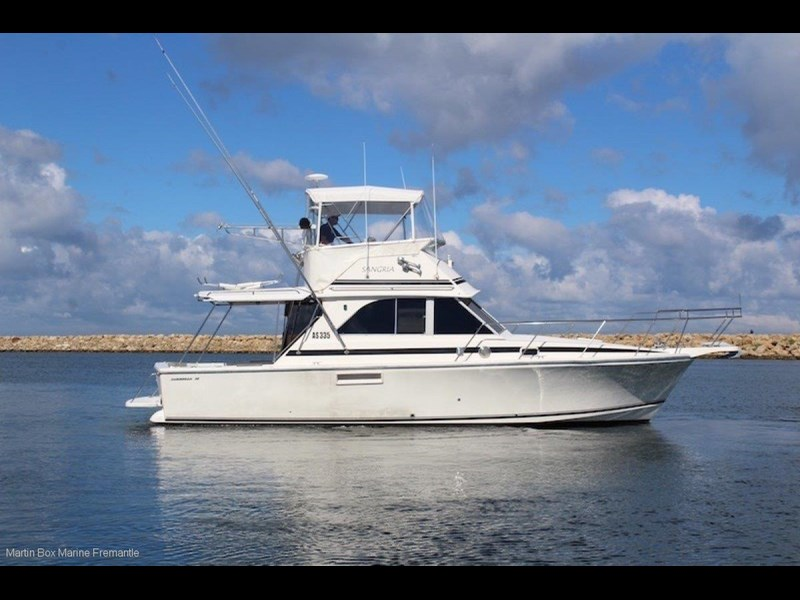 caribbean 35 flybridge cruiser 633415 013