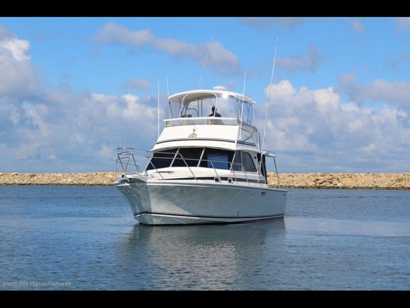 caribbean 35 flybridge cruiser 633415 007