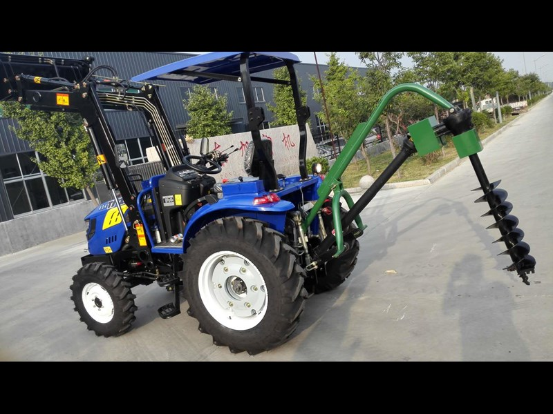 trident brand new 40hp tractor 4wd+fel+slasher shuttle shift 512366 155