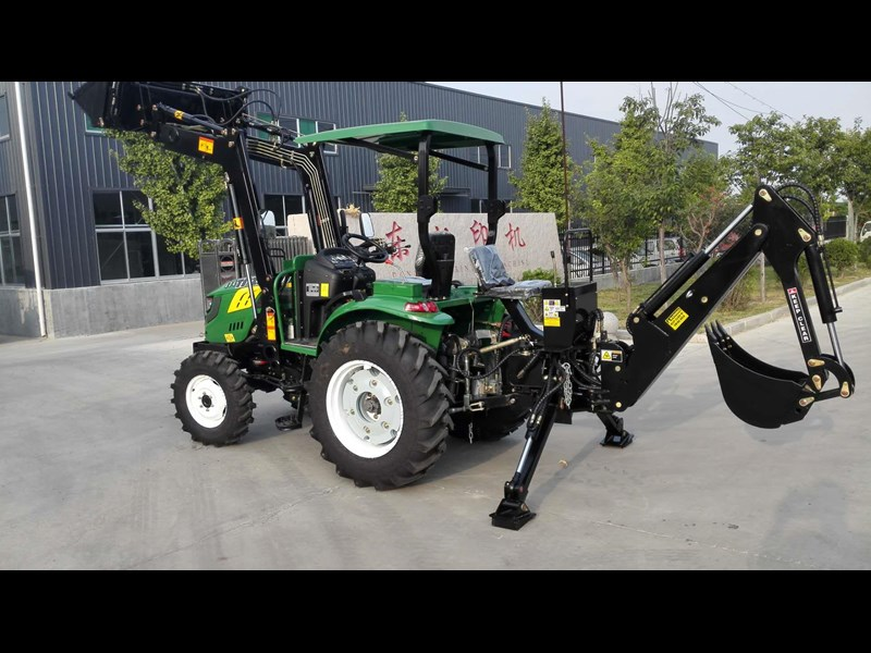 trident brand new 40hp tractor 4wd+fel+slasher shuttle shift 512366 157