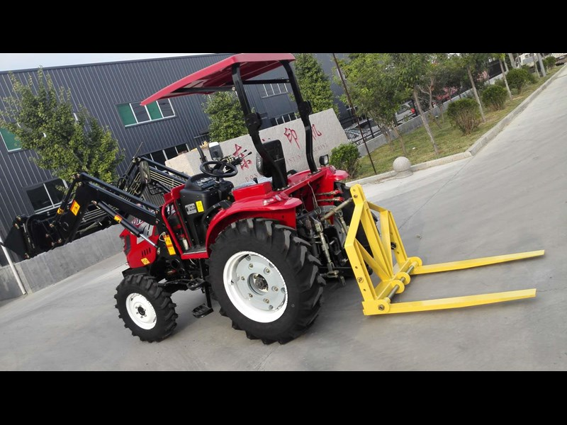 trident brand new 40hp tractor 4wd+fel+slasher shuttle shift 512366 161