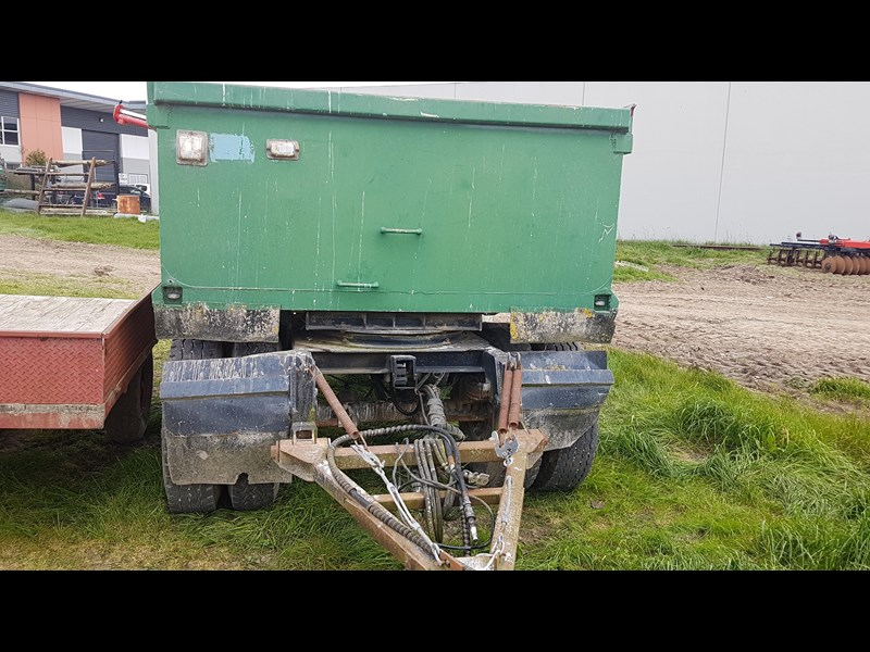 unknown hydraulic tipping truck type trailer 638343 003