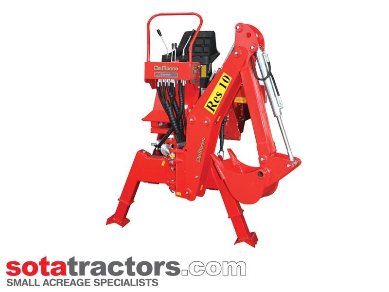 apollo 25hp tractor + 4 in 1 loader + backhoe 646224 037